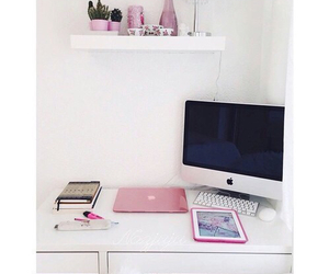 apple, pink, and ipad image