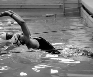 swimming, water, and natacion image