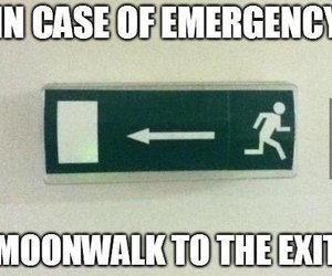 funny, exit, and lol image