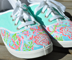 colorful, preppy, and shoes image