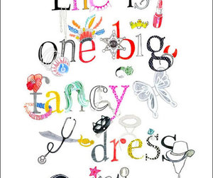 quote, dress, and fancy image