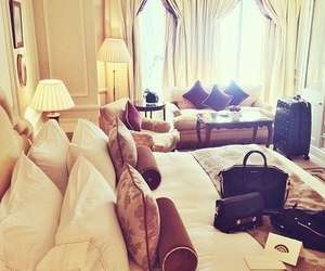 luxury, room, and bag image