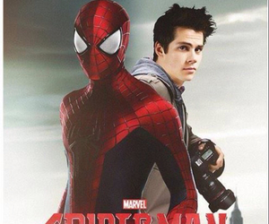 actor, dylan, and spiderman image