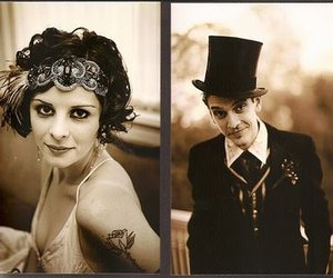 circus, flapper, and magician image