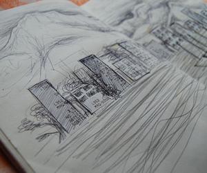 art, city, and photo image