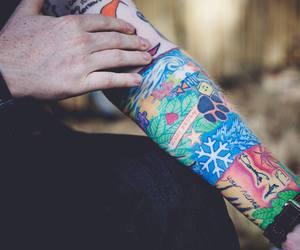 ed sheeran, tattoo, and singer image