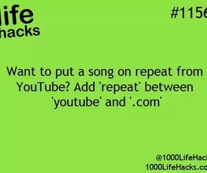 youtube and life hacks image
