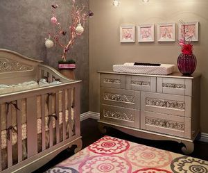 decor, room, and baby image