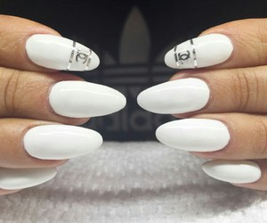chanel, fashion, and manicure image