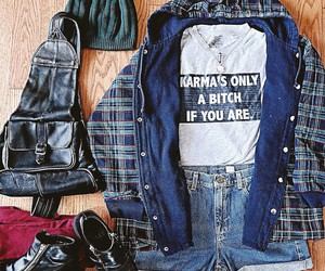 grunge, grunge style, and outfit of the day image