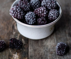 blackberry, fruit, and food image