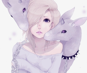 anime, art, and pastel image