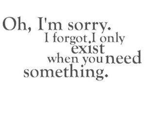quotes, sorry, and sad image