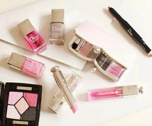 dior, make up, and makeup image
