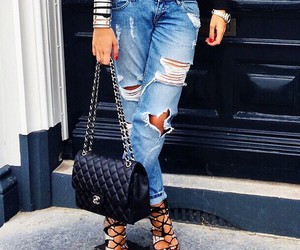 style, jeans, and fashion image