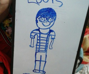 louis, louis tomlinson, and one direction image