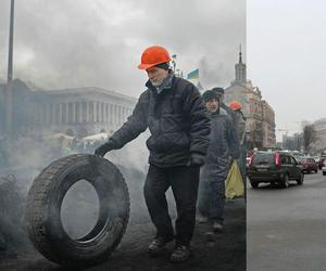 fighting, euromaidan, and maidan image