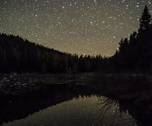 stars, night, and indie image
