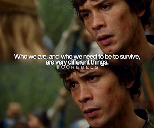 the 100, bellamy blake, and quote image