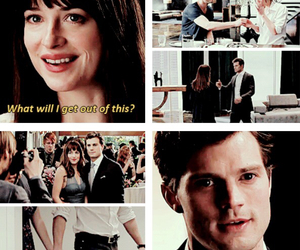 christian grey, fifty shades of grey, and fsog image
