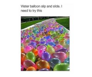 baloons, must try, and funny image
