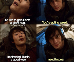 quote, the 100, and funny image