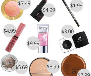 cheap, makeup, and beauty image