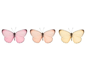 butterfly, pink, and pretty image
