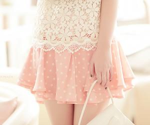 cute, pink, and kfashion image