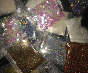 glitter, aesthetic, and grunge image