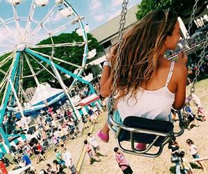 summer, fun, and swing image