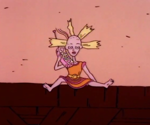 rugrats, cartoon, and cynthia image