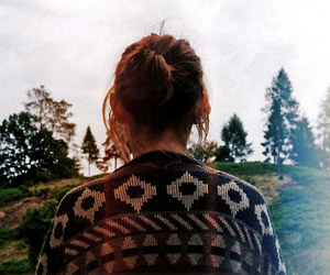 girl, hair, and indie image