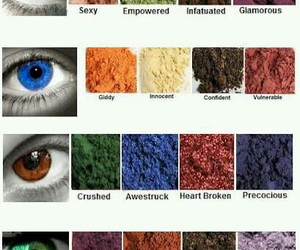 beauty, makeup, and pigment image