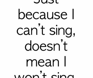 sing, music, and funny image
