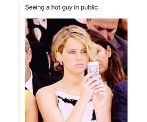 lol, funny, and Jennifer Lawrence image