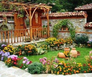 beautiful, decoration, and garden image