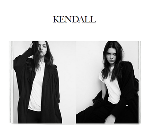 model, girl, and kendall jenner image