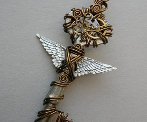 keys, wings, and wire image