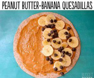 food, banana, and diy image