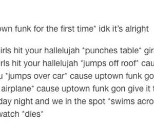 funny, hallelujah, and Lyrics image