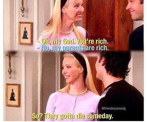 friends, funny, and phoebe buffay image