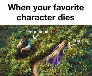 character, books, and dies image