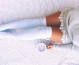 fashion, girl, and socks image