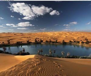 Libya and desert image
