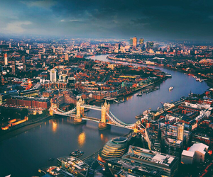 london, city, and travel image