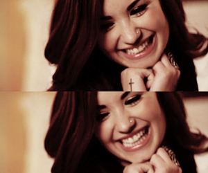 demi lovato and smile image