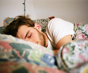 boy, sleep, and vintage image