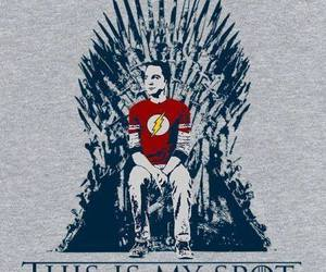 the big bang theory, funny, and game of thrones image