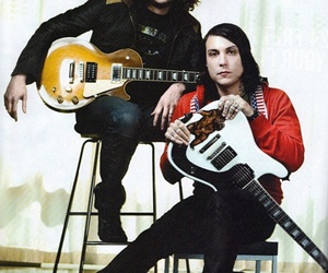 my chemical romance, frank iero, and ray toro image